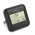 FIESTA DIGITAL WEATHER STATION LCD INDOOR/OUTDOOR WIRELLESS BLACK EOL [42292]