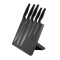PLATINET 5 BLACK KNIVES SET WITH BLACK MAGNETIC BOARD