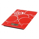 OMEGA KITCHEN SCALES RED [42879]