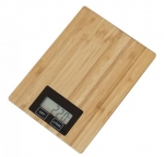 OMEGA KITCHEN SCALE BAMBOO WITH DISPLAY [44980]