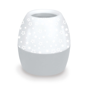 OMEGA LED  PROJECTOR NIGHT LIGHT GREY STAR PATTERN 45180