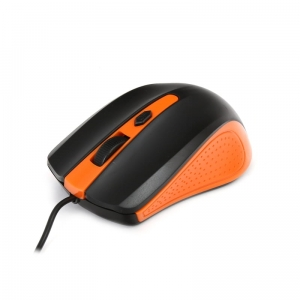 MOUSE OMEGA OM-05O OPTICAL 1000DPI BLACK/ORANGE BLISTER [41789]