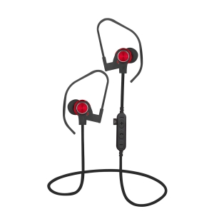 PLATINET IN-EAR BLUETOOTH V4.2 + microSD EARPHONES + MIC PM1062 RED [44475]