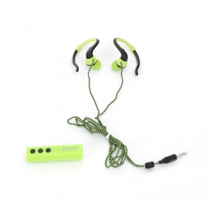 FIESTA EARPHONES BLUETOOTH + SELFIE SHUTTER FIS915 GREEN