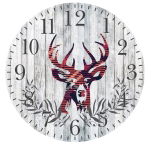 PLATINET ZEGAR WALL CLOCK DEER