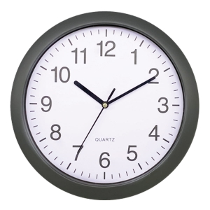 PLATINET WALL CLOCK RAINBOW GREY