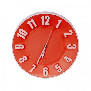 PLATINET ZEGAR TODAY WALL CLOCK/ RED 42989