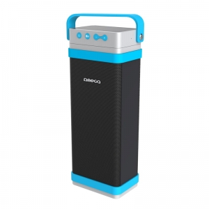 OMEGA SPEAKERS / GŁOŚNIKI 2.1 OG-095 CUBE OUTDOOR BLUETOOTH V4.0 SD 22W BLUE [43563]