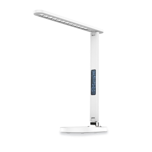 PLATINET DESK LAMP CLOCK CALENDAR DISPLAY 13W WHITE