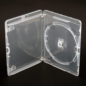 PUDEŁKO BLU-RAY 14MM AMARAY WITH CLIP 1 CLEAR