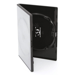 PUDEŁKO DVD 14MM AMARAY 2 BLACK GLOSSY SIDE-BY-SIDE