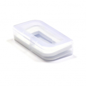 PENDRIVE BOX 01 TRANSPARENT/WHITE [45153]