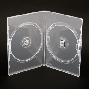 PUDEŁKO DVD 14MM AMARAY 2 CLEAR SIDE-BY-SIDE