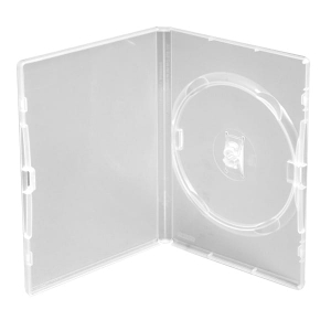 PUDEŁKO DVD 14MM AMARAY 1 CLEAR with clip [44539]