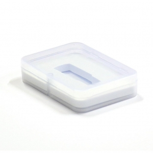 PENDRIVE BOX 02 100x72x20 TRANSPARENT/WHITE [45154]