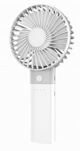 PLATINET RECHARGEABLE DESK FAN WITH POWERBANK 4000MAH 3 STEPS