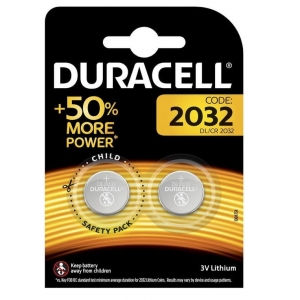 DURACELL BATTERY Lithium DL2032 BL2