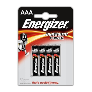 ENERGIZER ALKALINE POWER LR03 BLISTER4