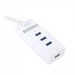 OMEGA USB 3.0 HUB 4 PORT WHITE [42463]