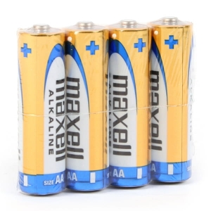 MAXELL BATTERY ALKALINE LR06/AA SHRINK*4  790223.04.CN
