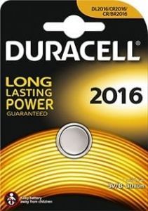DURACELL BATTERY DL 2016 BLISTER*1