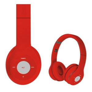 FREESTYLE HEADSET BLUETOOTH FH0915 RED/RED [43049]