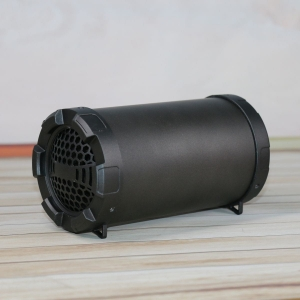 "OMEGA SPEAKER / GŁOŚNIK OG70 BAZOOKA 3,5"" 5W BLUETOOTH V4.2 BLACK RUBBER [44160]"
