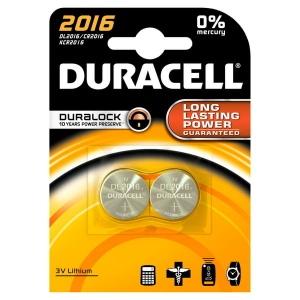 DURACELL BATTERY Lithium DL2016 BL2