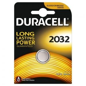 DURACELL BATTERY LITHIUM DL2032 HSDC BL*5