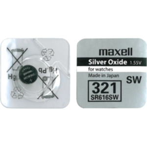 MAXELL BATTERY SR616SW SR COIN [321] BLISTER*1 10292800