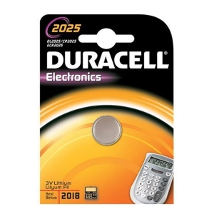 DURACELL BATTERY DL 2025 BLISTER*1