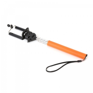 OMEGA MONOPOD - SPORT CAMERA TELESCOPIC POLE SELFIE STICK ORANGE [43020]