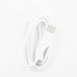 OMEGA BAJA PVC TYPE-C TO USB & DATA BULK CABLE 1A 1M WHITE [44346]
