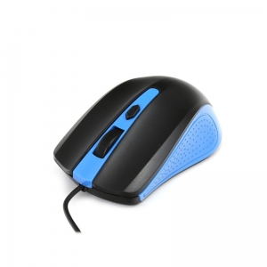 MOUSE OMEGA OM-05BL OPTICAL 1000DPI BLACK/BLUE BLISTER [41787]