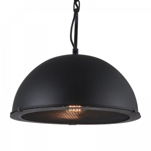PLATINET PENDANT LAMP APOLLO P1610113-M E27 METAL BLACK 35x31 [44016]