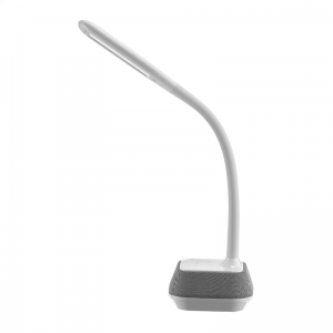 PLATINET DESK LAMP 18W WITH BLUETOOTH SPEAKER & USB CHARGER [44126]