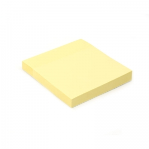 PLATINET STICKY NOTES YELLOW 75x75MM 100 SHEETS