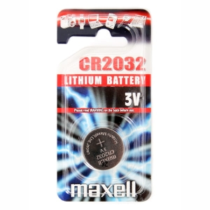 MAXELL BATTERY CR2032 BLISTER*1 11238500