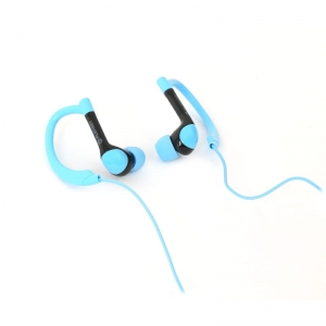 PLATINET IN-EAR EARPHONES + MIC SPORT PM1072 BLUE [42937]
