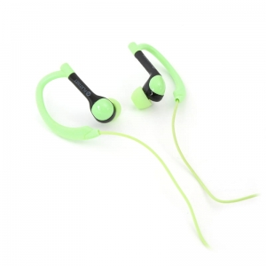 PLATINET IN-EAR EARPHONES + MIC SPORT PM1072 GREEN [42940]