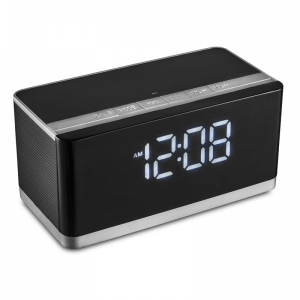 PLATINET SPEAKERS / GŁOŚNIKI PMGC10A BLUETOOTH + CLOCK, FM 10W STEREO [43975]