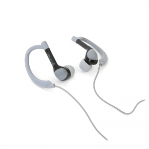 PLATINET IN-EAR EARPHONES + MIC SPORT PM1072 GREY [42938]