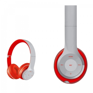 FREESTYLE HEADSET BLUETOOTH FH0915 GREY/RED [43686]