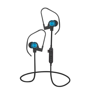 PLATINET IN-EAR BLUETOOTH V4.2 + microSD EARPHONES + MIC PM1062 BLUE [44473]