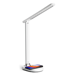 PLATINET DESK LAMP WIRLESS CHARGER 18W QI WHITE [45244]