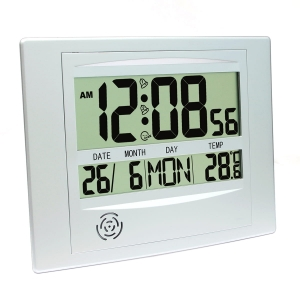 PLATINET ZEGAR ALARM CLOCK WITH TEMPERATURE [44377]