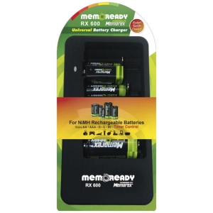 MEMOREX UNIVERSAL CHARGER RX 600 A1306