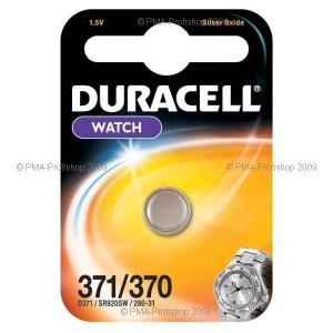 DURACELL BATTERY 371/370 SR920 BLISTER*1