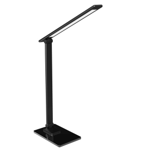 PLATINET SPECIAL LED DESK LAMP 6W RGB GLASS BASE BLACK 44892