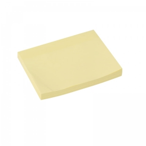 PLATINET STICKY NOTES YELLOW 75x100MM 100 SHEETS